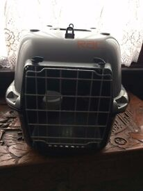 Small Animal Carrier in Grey
