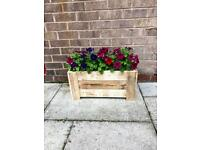 Custom Made Wooden Planters