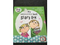 Children's story book collection Charlie and Lola
