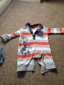 Newborn and 0-3 boys clothes