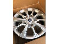 "Ford transit custom sport alloy wheels 18"""