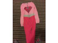 Superwoman onesie size 14