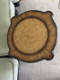 Lovely side table solid wood