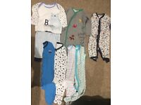 7 baby grows Baby boy 6/9 months