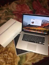 Apple MacBook Pro Retina Mid 2012, 500GB SSD, 8GB RAM, i7 2.6GHz (GREAT CONDITION)
