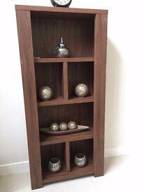 Dark Brown Display Shelf in excellent condition