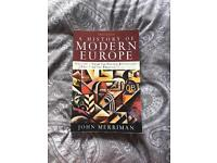 A History of Modern Europe by Merriman