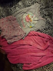 Girls age 9-10 years pjs and dressing gown