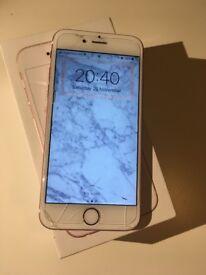 iPhone 6s, Rose Gold, 64GB, UNLOCKED