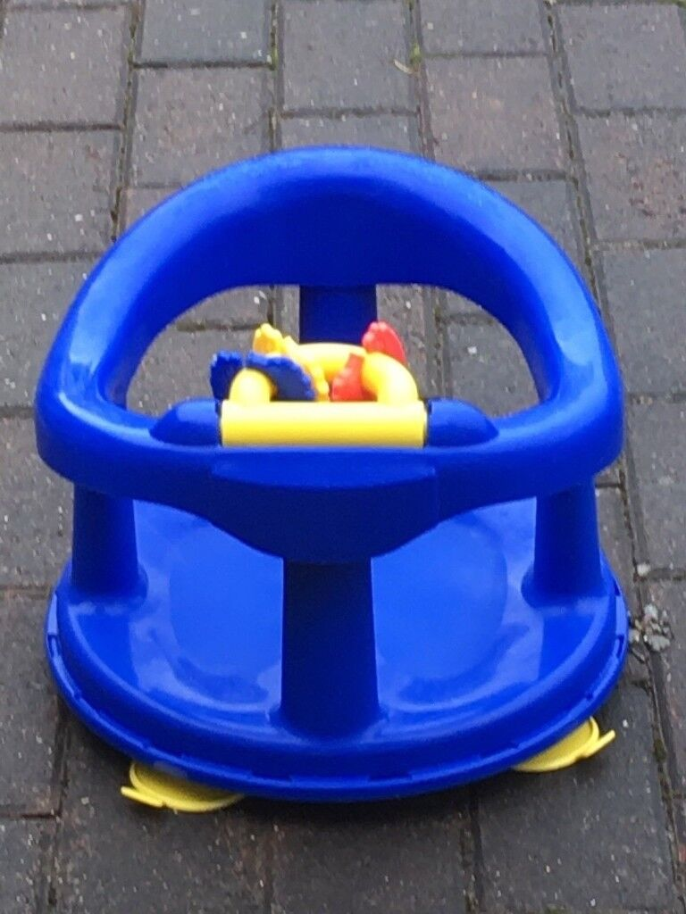Safety 1st Swivel Bath Seat for Baby (Navy Blue) 6-12m | in Milton ...