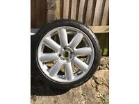 """Mini 17"""" alloy wheel"""