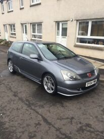 Honda Civic type R (EP3) immaculate condition .