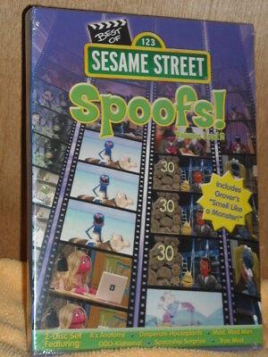 Sesame Street: The Best of Sesame Spoofs, Vol. 1  Vol. 2 (DVD, 2011, 2-Disc