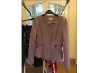 Ladies size 6 next pink jacket - only worn once for a wedding