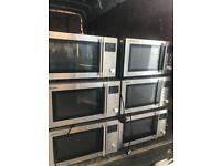 Silver Used Microwave-