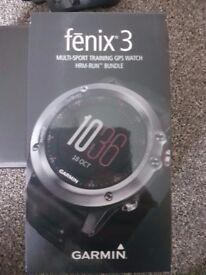 Garmin Fenix 3 HR - Multi sport GPS Watch - HRM-Run Bundle
