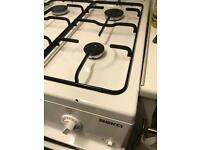 Beko gas oven and bob white