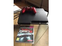 PS3 120GB Slim + GRID 2