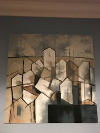 S.Cootom Pedido 80x80cm Canvas painting