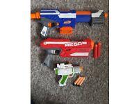2 x Nerf Guns and a Star Wars Gun
