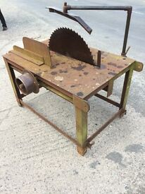 CIRCULAR BENCH SAW FOR TRACTOR