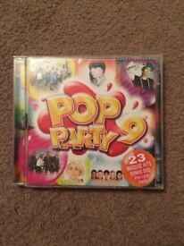 Pop Party 9 Full CD Case Collection