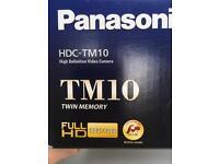 Panasonic HD video camera TM10