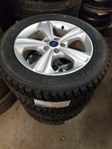 Brand New 225 60 17 Antares winter tires on OEM Ford Escape Fusion alloy rims 5x108 / TPMS $1200