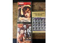 Bowie, Beatles cassette's