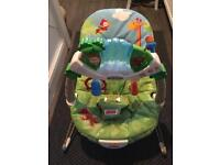 Fisher price rainforest bouncer in brand new condition