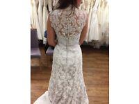 BRAND NEW lace wedding dress Berketex Bride Size 10