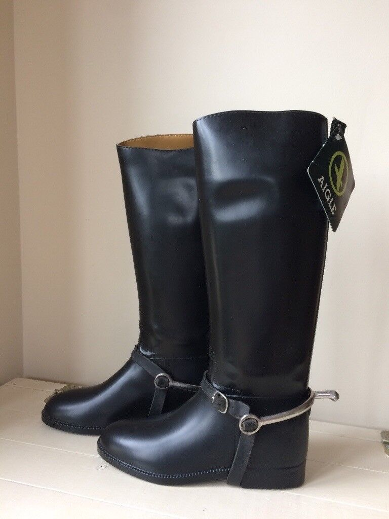 Agile Ecuyer Coupe Saumur Equestrian Riding Boots