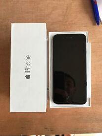 UNLOCKED iPhone 6 128gb BLACK/SILVER