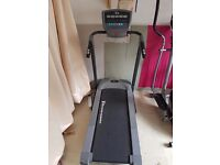 electric threadmill and cross trainer