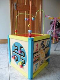 Wooden Childs Multi Activity Centre