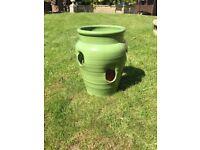 Green flowerpot