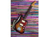 Fender Jazzmaster mij 1994 - mastery bridge, mojo pickups, sigler circuit upgrade