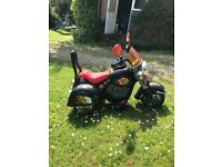 Ride on Toy Motorcycle - Wild Child Harley