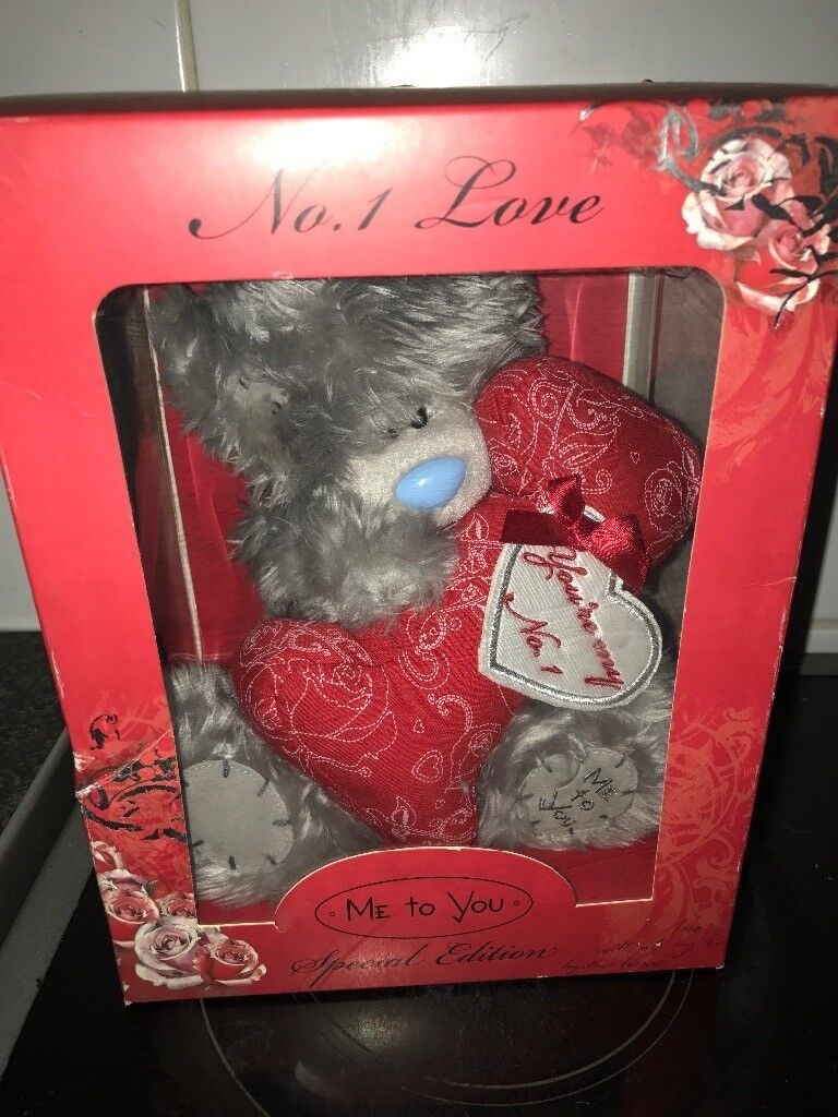 Limited Edition me To You bear boxed