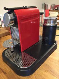 Nespresso citiz and milk coffee maker