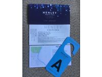 Rita Ora Henley Music Festival x 2 Tickets General Admission Wednesday 11th July & Car Park Pass