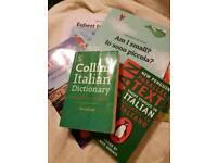 Italian books new and unused