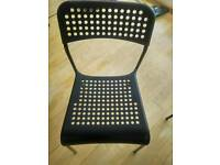 Plastic chairs ikea (4 pieces available)