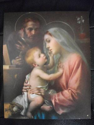 Bild, Hl. Familie, Papier - 20x25 cm