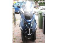 PIAGGIO MP3 400IE 3 WHEELED SUPER SCOOTER IN VERY NICE CONDITION 11 MONTHS MOT FSH