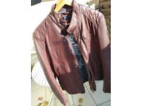 Leather Jacket Marc O'Plolo Brand New - Size 46