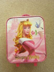 Disney Store Sleeping Beauty Small Luggage Case