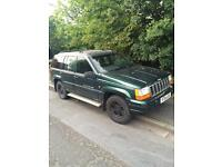 Jeep Grand Cherokee 2.5td spares and repairs