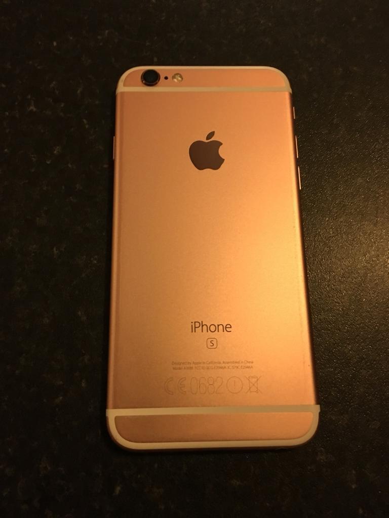 Apple iPhone 6s 128gb! Rose gold