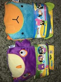Brand New SnooziHead Travel Pillow And Blanket